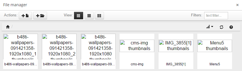 PrestaCraft - Missing images in File manager and TinyMCE